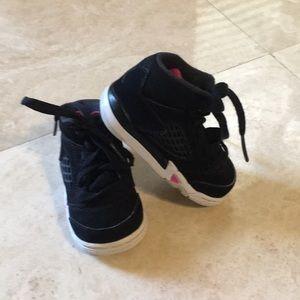 Beautiful Baby Girl Jordan Sneakers